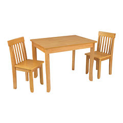 KidKraft® Avalon Table II and 2 Chairs Set - Natural