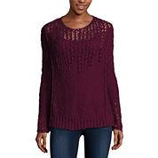 Arizona Bell Sleeve Sweater-Juniors