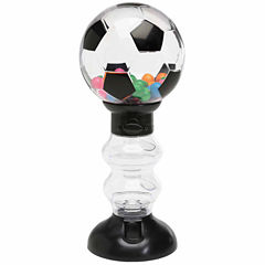 Sweet N Fun Soccer Gumball Machine Bank with Gumballs