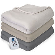 Serta® Plush Electric Warming Blanket