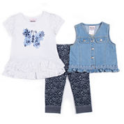 Little Lass Legging Set-Toddler