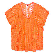 Total Girl Girls Crochet Poncho