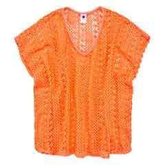 Total Girl Girls Crochet Poncho
