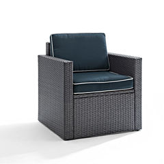 Palm Harbor Wicker Patio Lounge Chair