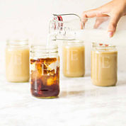Cathy's Concepts Set of 4 Personalized 16-oz. Mason Jars