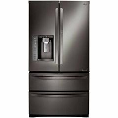 LG 26.5 cu. ft. Ultra-Large Capacity Four-Door Refrigerator with Door-in-Door