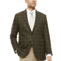 Stafford® Merino Wool Sport Coat - Classic Fit