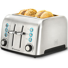 Toastmaster® Stainless Steel 4-Slice Slot Toaster