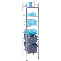 Honey-Can-Do® 6-Tier Metal Tower