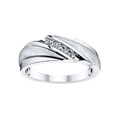 Mens 1/10 CT. T.W. Diamond 5-Stone Band