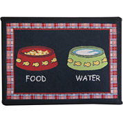 PB Paws by Park B. Smith® Kitty Brunch Tapestry Pet Mat
