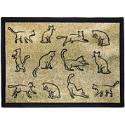 PB Paws by Park B. Smith® Kitty Fun Tapestry Pet Mat