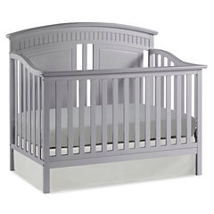 Thomasville Kids Majestic 4-in-1 Convertible Crib - Pebble Gray