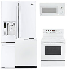 LG 4-pc. Electric Kitchen Package