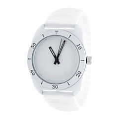 Rbx Unisex White Strap Watch-Rbx001wt