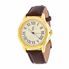 Xtreme Time Mens Brown Bracelet Watch-Nwl389068g-Br
