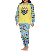 Illumination Minions Pant Pajama Set-Juniors