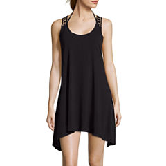 a.n.a® Sleeveless Lace-Back Dress