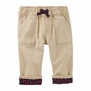 Oshkosh Girls Pull-On Pants