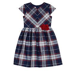 Marmellata Short Sleeve Cap Sleeve Party Dress - Big Kid Girls