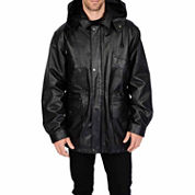 Excelled® Nappa Leather Parka – Big & Tall