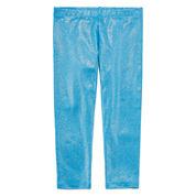 Okie Dokie Solid Knit Leggings - Preschool Girls