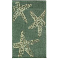 Bacova Star Fish Rectangular Rug