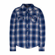 Levi's Girls Short Sleeve Button-Front Shirt