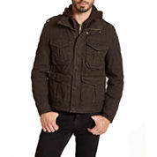 EXCELLED MILITARY STYLE HOODED JACKET