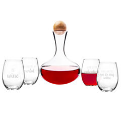 Cathy's Concepts Be Mine 5-pc. Decanter Set