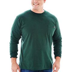 Dickies® Heavyweight Long-Sleeve Pocket Tee–Big & Tall