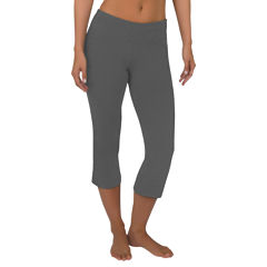 Jockey® Slim-Fit Flare-Leg Capris