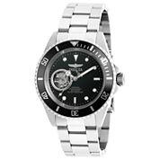 Invicta Mens Silver Tone Bracelet Watch-20433