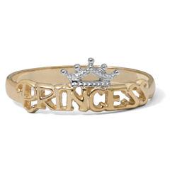 Disney® 14K Yellow Gold Gold Princess Tiara Ring