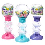 Sweet N Fun Spiral Fun Gumball Machines With Gumballs: 3 Piece Set