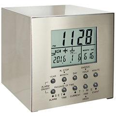 Natico 3 Events Countdown Cube Alarm Clock
