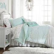 Frank and Lulu Polka Dottie Turquoise Comforter Set & Accessories