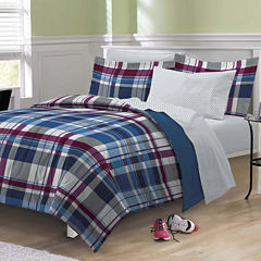 My Room Varsity Plaid Complete Bedding Set with Sheets