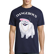 Dangerous Pup Graphic T-Shirt
