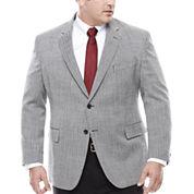 Stafford Wool Sport Coat-Big and Tall