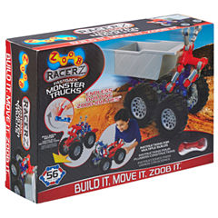 Zoob Mobile Monster Trucks Interactive Toy - Unisex