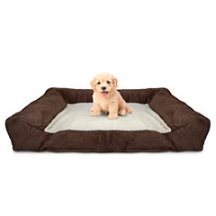 Animal Planet Memory Foam Lounger Pet Bed With Carry Bag