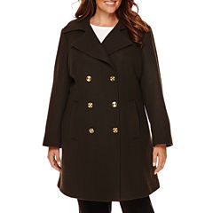 Liz Claiborne® Peacoat - Plus