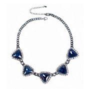 Mixit™ Blue Stone Statement Necklace