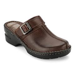 Eastland® Mae Womens Leather Clogs