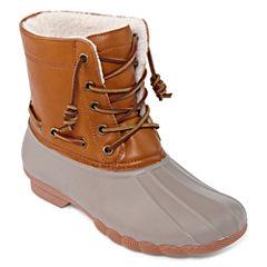 Seven 7 Speyside Womens Waterproof Slip Resistant Rain Boots