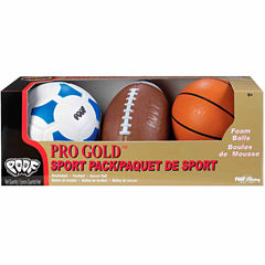 Poof Pro Gold Sport Pack 3-pc. Combo Game Set