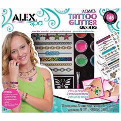 Alex Toys Spa Ultimate Glitter Tattoo Party Beauty Toy