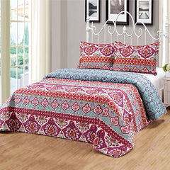 3-pc. Bohemian Bedspread Set