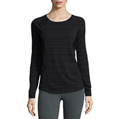 Xersion™ Long Sleeve Mesh Inset Tee